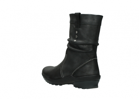 wolky bottes mi hautes 01732 bryce 10210 cuir anthracite_4