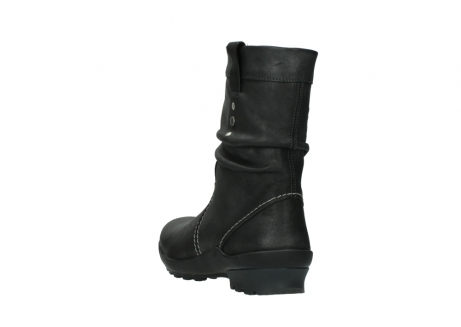 wolky bottes mi hautes 01732 bryce 10210 cuir anthracite_5