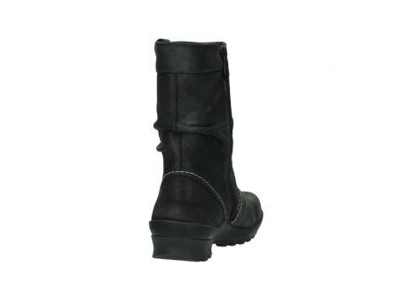 wolky bottes mi hautes 01732 bryce 10210 cuir anthracite_8
