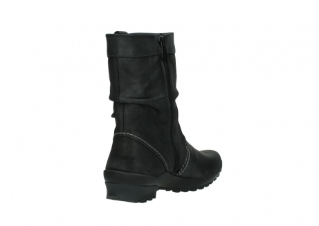 wolky bottes mi hautes 01732 bryce 10210 cuir anthracite_9