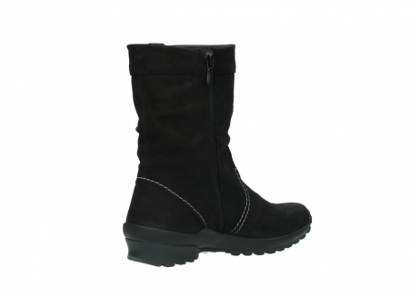 wolky mid calf boots 01732 bryce 50000 black oiled leather_10