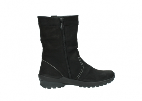 wolky mid calf boots 01732 bryce 50000 black oiled leather_12