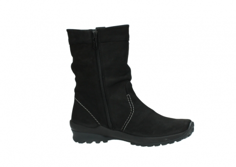 wolky mid calf boots 01732 bryce 50000 black oiled leather_14