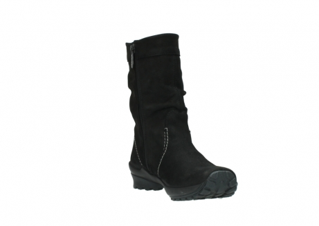 wolky mid calf boots 01732 bryce 50000 black oiled leather_17