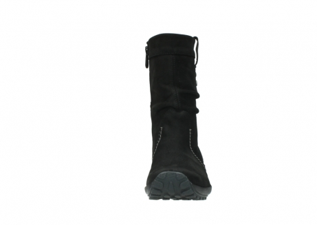 wolky mid calf boots 01732 bryce 50000 black oiled leather_19