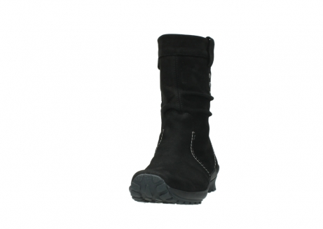 wolky mid calf boots 01732 bryce 50000 black oiled leather_20