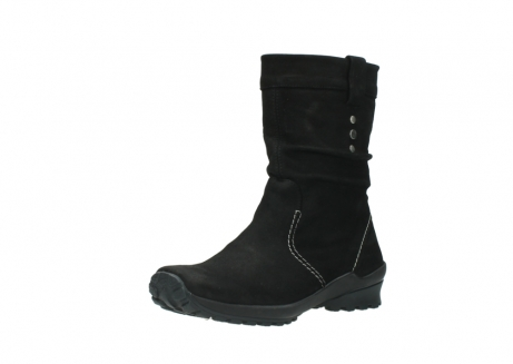 wolky mid calf boots 01732 bryce 50000 black oiled leather_22