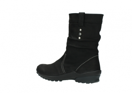 wolky mid calf boots 01732 bryce 50000 black oiled leather_3