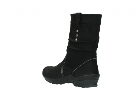 wolky mid calf boots 01732 bryce 50000 black oiled leather_4