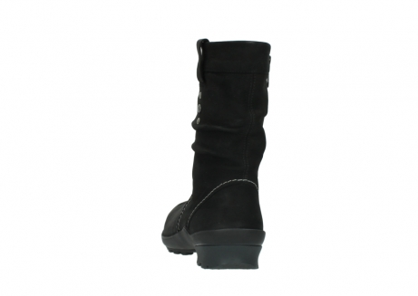 wolky mid calf boots 01732 bryce 50000 black oiled leather_6