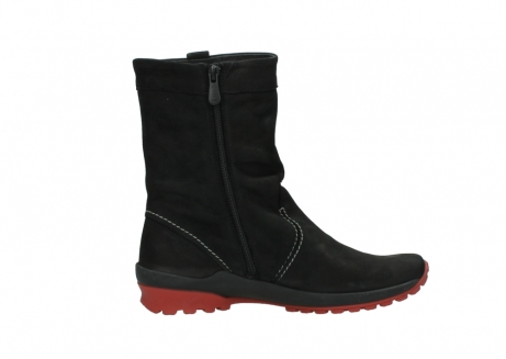 wolky mid calf boots 01732 bryce 50020 black red oiled leather_13