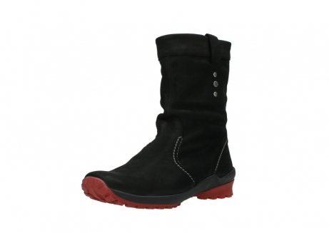 wolky mid calf boots 01732 bryce 50020 black red oiled leather_22
