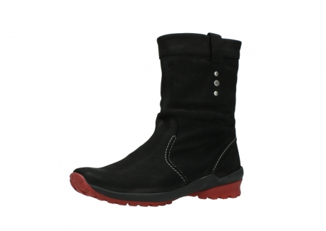 wolky mid calf boots 01732 bryce 50020 black red oiled leather_23