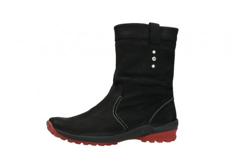 wolky mid calf boots 01732 bryce 50020 black red oiled leather_24