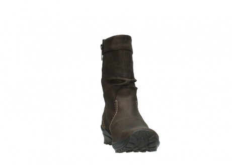 wolky mid calf boots 01732 bryce 50300 brown oiled leather_18