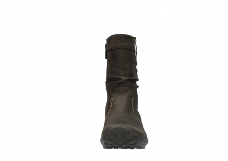 wolky mid calf boots 01732 bryce 50300 brown oiled leather_19