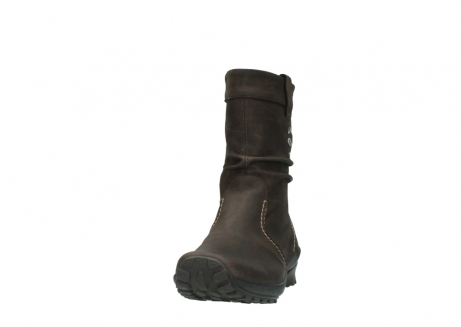 wolky mid calf boots 01732 bryce 50300 brown oiled leather_20