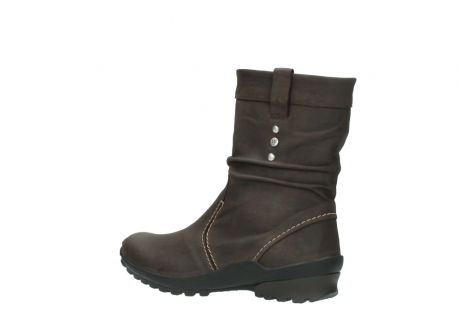 wolky mid calf boots 01732 bryce 50300 brown oiled leather_3