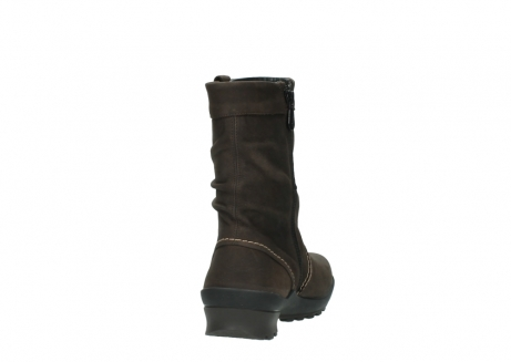 wolky mid calf boots 01732 bryce 50300 brown oiled leather_8
