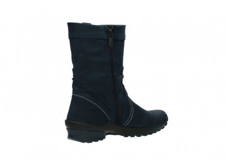 wolky mid calf boots 01732 bryce 50800 dark blue oiled leather_10