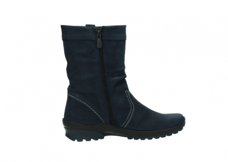 wolky mid calf boots 01732 bryce 50800 dark blue oiled leather_12