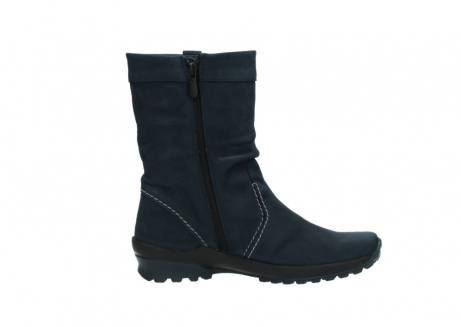 wolky mid calf boots 01732 bryce 50800 dark blue oiled leather_13