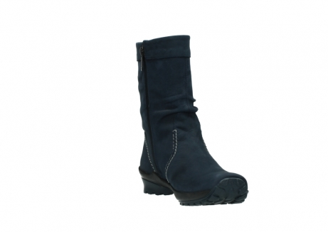 wolky mid calf boots 01732 bryce 50800 dark blue oiled leather_17