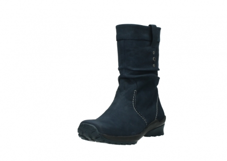 wolky mid calf boots 01732 bryce 50800 dark blue oiled leather_21