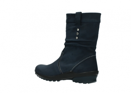 wolky mid calf boots 01732 bryce 50800 dark blue oiled leather_3