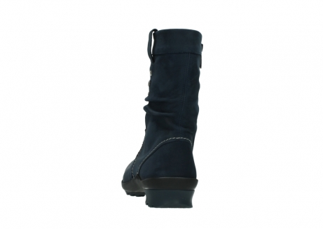 wolky mid calf boots 01732 bryce 50800 dark blue oiled leather_6