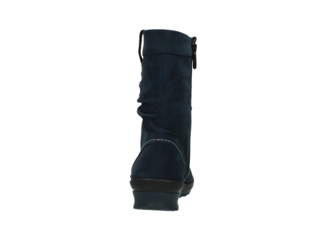 wolky mid calf boots 01732 bryce 50800 dark blue oiled leather_7