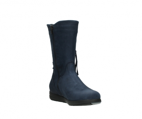 wolky mid calf boots 02425 newton wp 13800 blue nubuckleather_17
