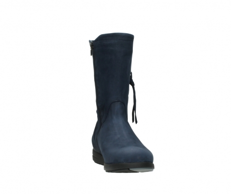 wolky mid calf boots 02425 newton wp 13800 blue nubuckleather_18