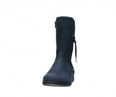 wolky mid calf boots 02425 newton wp 13800 blue nubuckleather_20