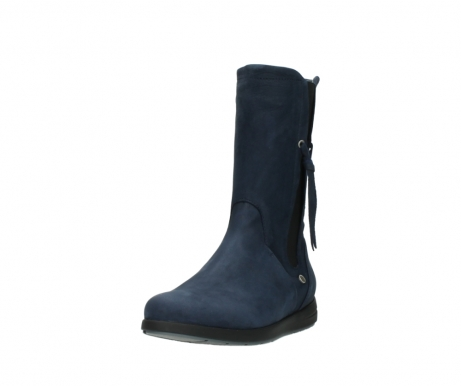 wolky mid calf boots 02425 newton wp 13800 blue nubuckleather_21