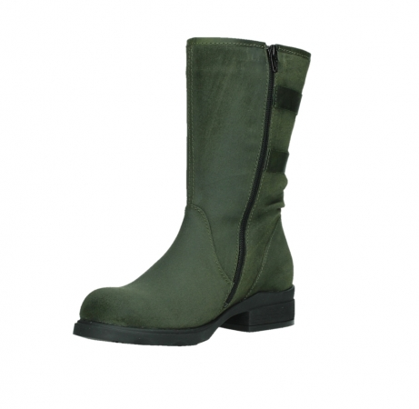 wolky mid calf boots 02626 willis 45730 forestgreen suede_10