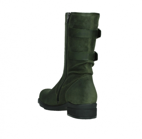 wolky mid calf boots 02626 willis 45730 forestgreen suede_17