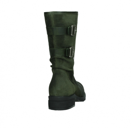 wolky mid calf boots 02626 willis 45730 forestgreen suede_20