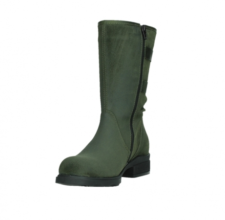 wolky mid calf boots 02626 willis 45730 forestgreen suede_9