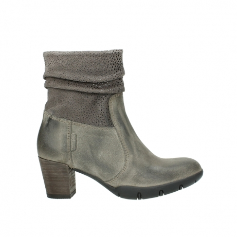 wolky bottes mi hautes 03676 colville 40150 suede taupe