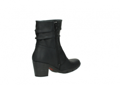 wolky mid calf boots 03676 colville 50000 leontien black oiled leather_10