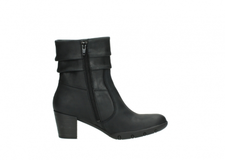 wolky mid calf boots 03676 colville 50000 leontien black oiled leather_13