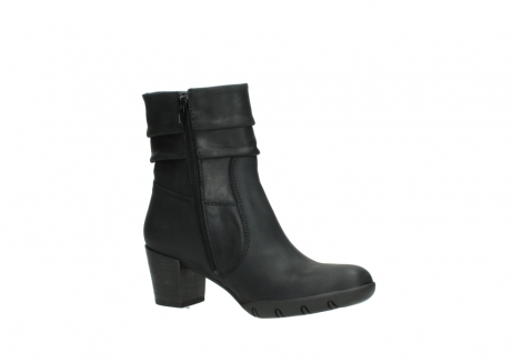 wolky mid calf boots 03676 colville 50000 leontien black oiled leather_15