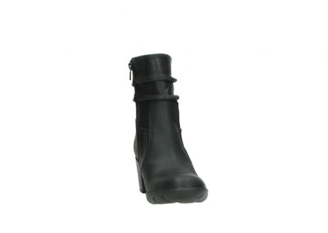 wolky mid calf boots 03676 colville 50000 leontien black oiled leather_18