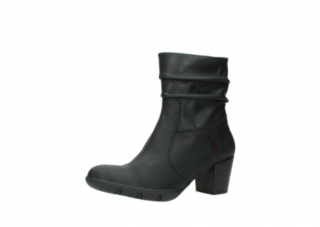 wolky mid calf boots 03676 colville 50000 leontien black oiled leather_23