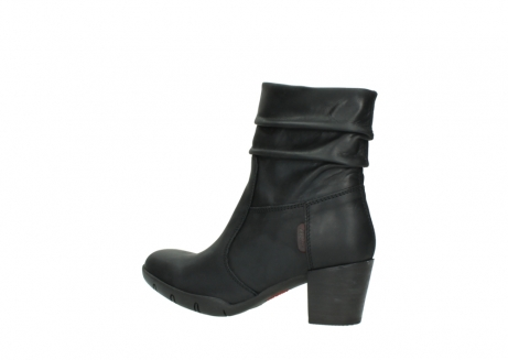 wolky mid calf boots 03676 colville 50000 leontien black oiled leather_3