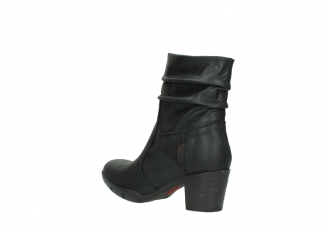 wolky mid calf boots 03676 colville 50000 leontien black oiled leather_4