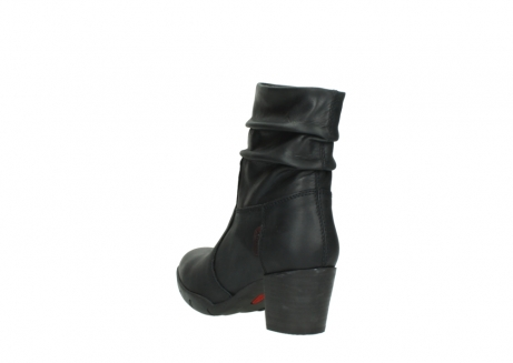 wolky mid calf boots 03676 colville 50000 leontien black oiled leather_5