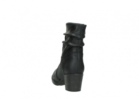 wolky mid calf boots 03676 colville 50000 leontien black oiled leather_6