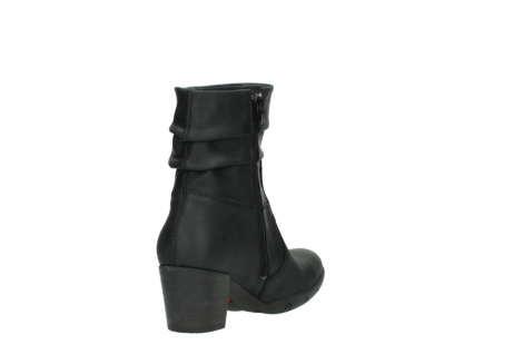 wolky mid calf boots 03676 colville 50000 leontien black oiled leather_9